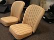 Austin Healy Sitze neu bezogen